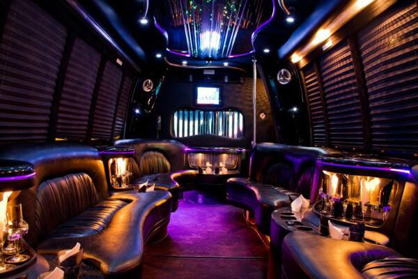 15 Person Party Bus Rental Baton Rouge