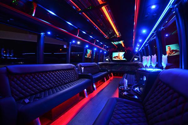 40 Person Party Bus Rental Baton Rouge