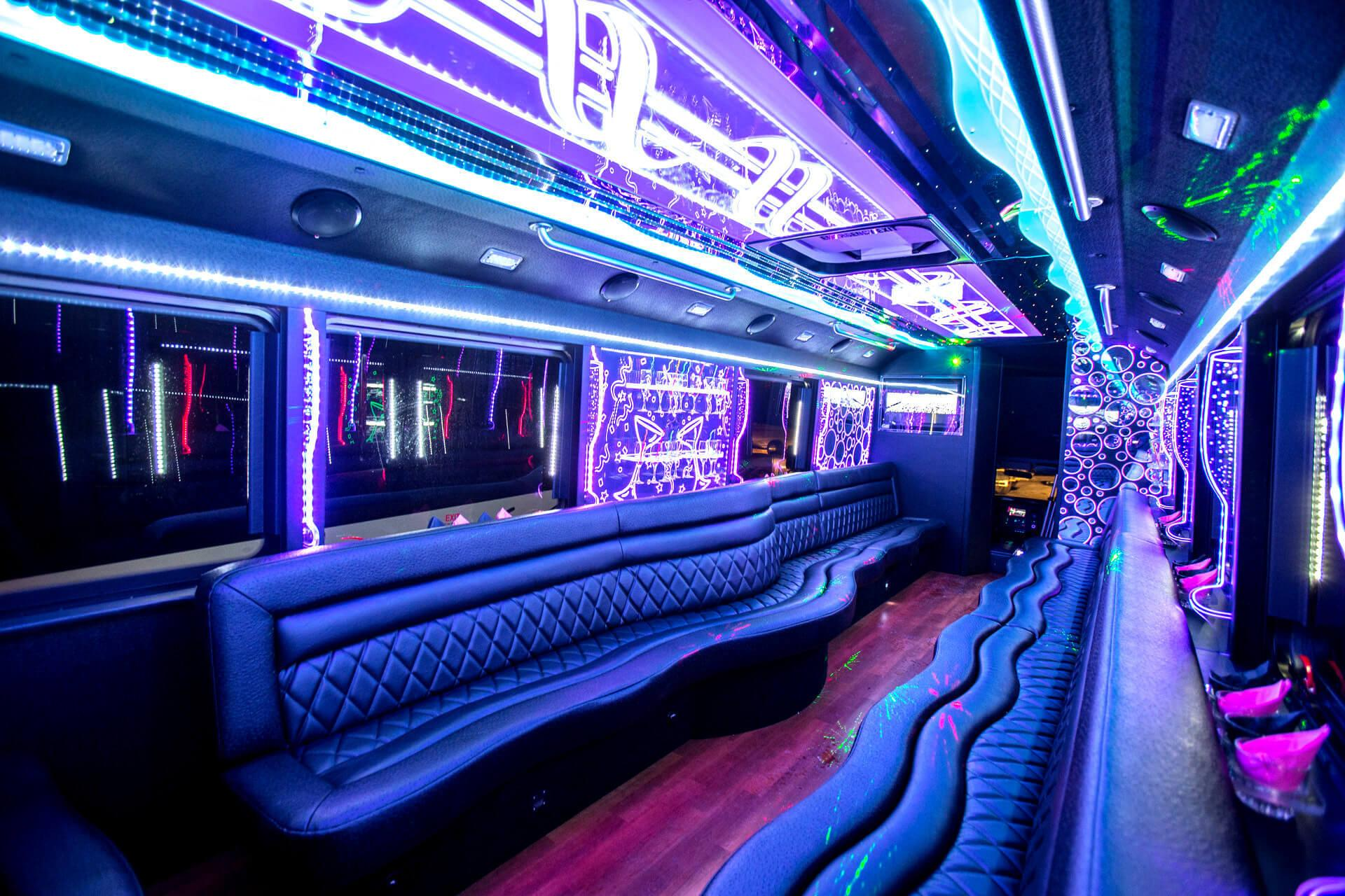 Party Bus Baton Rouge Rental 1