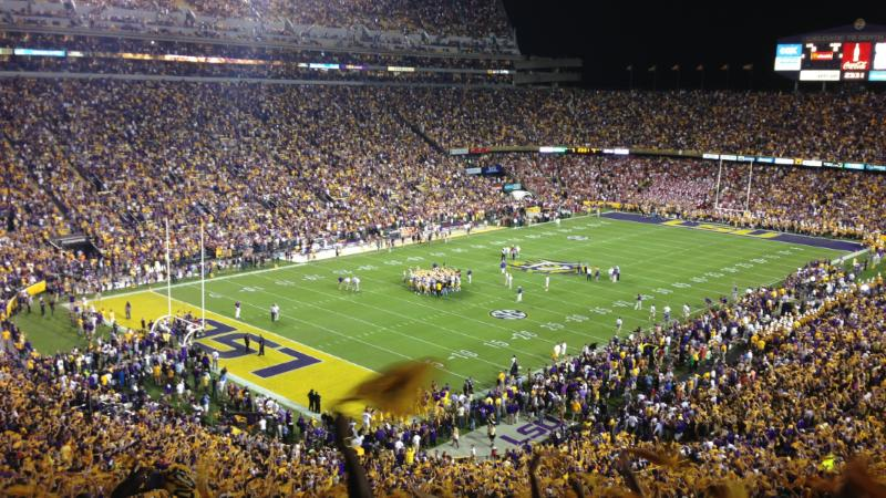 Party Bus Service Tiger Stadium LSU Baton Rouge